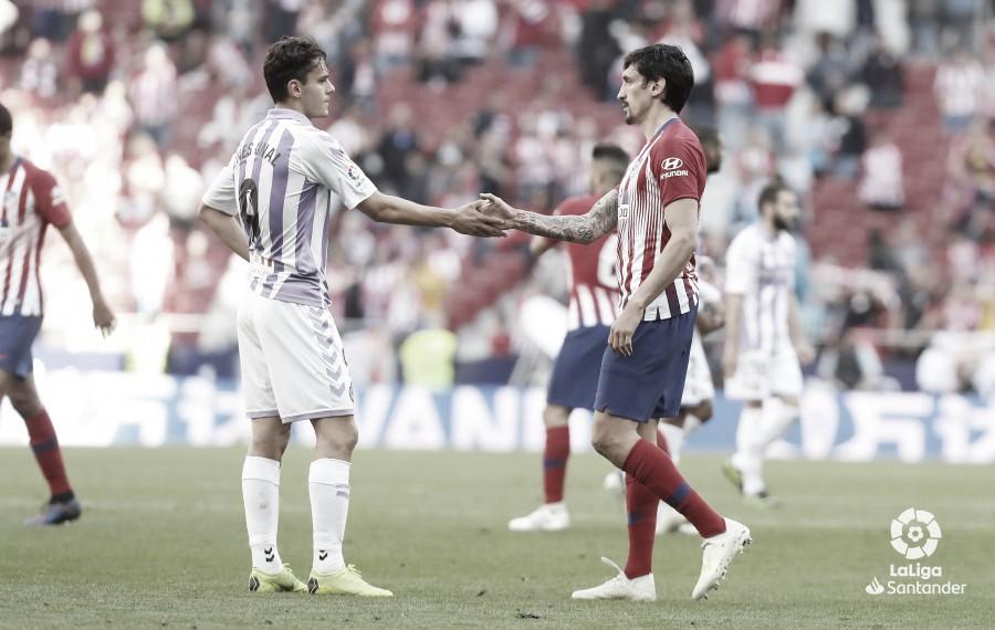 El Real Valladolid lo intentó, pero el árbitro no les dio ocasión para hacerlo