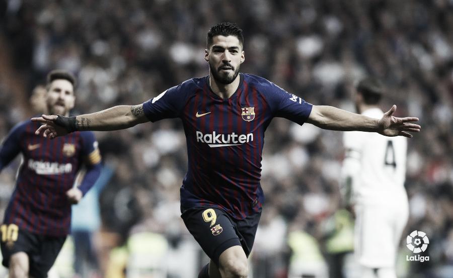 Luis Suárez despedaza al Real Madrid