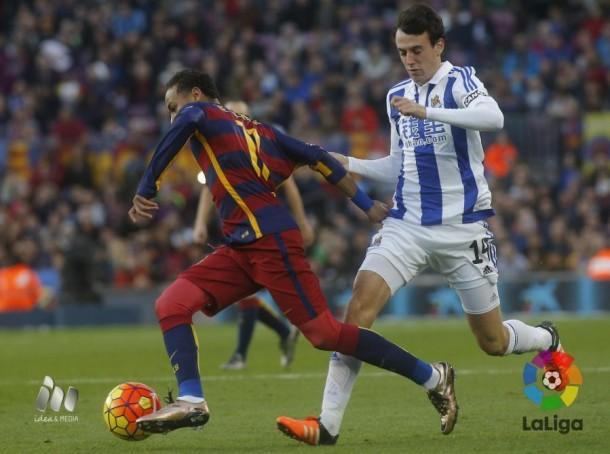 FC Barcelona - Real Sociedad: puntuaciones de la Real Sociedad, jornada 13 de la Liga BBVA