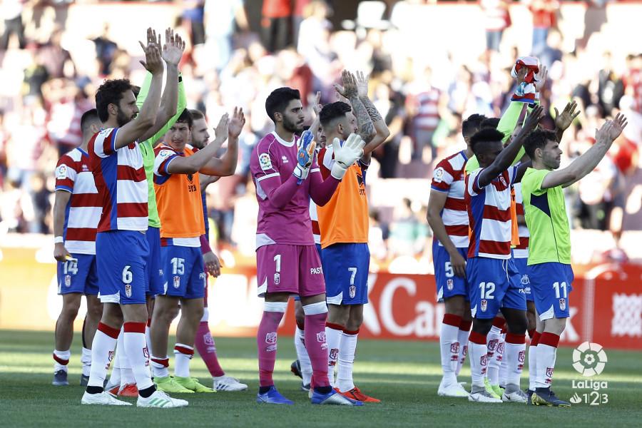 Granada CF - Nàstic Tarragona: puntuaciones del Granada, jornada 36 de La Liga 1 2 3