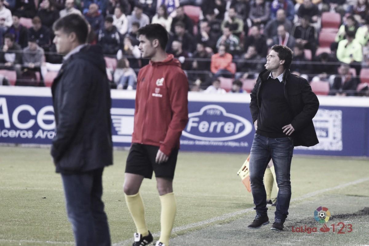 Rubi, al mando de un Huesca que puede hacer historia