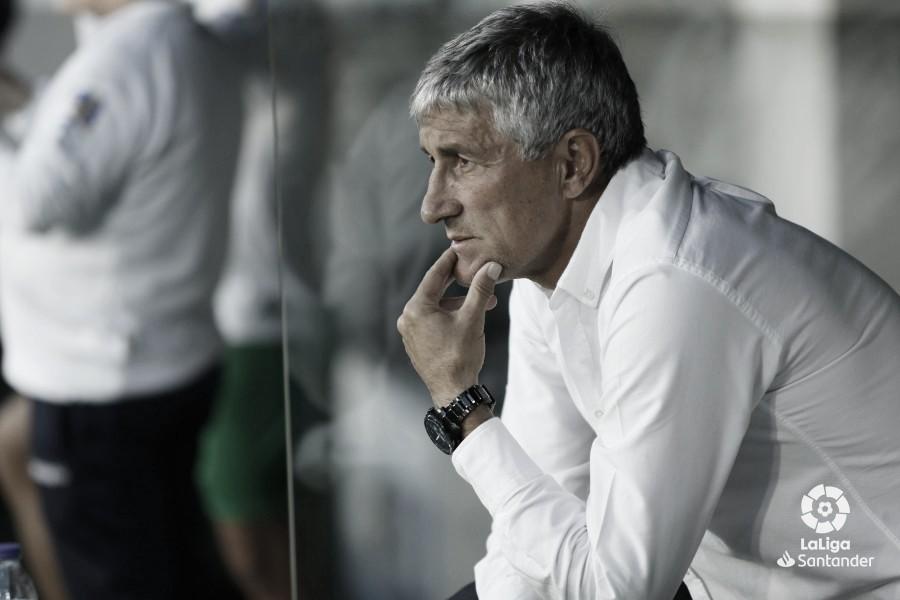 """Ángel Haro: """"Entiendo que cuando el equipo no gana, la cabeza visible sea el entrenador"""""""