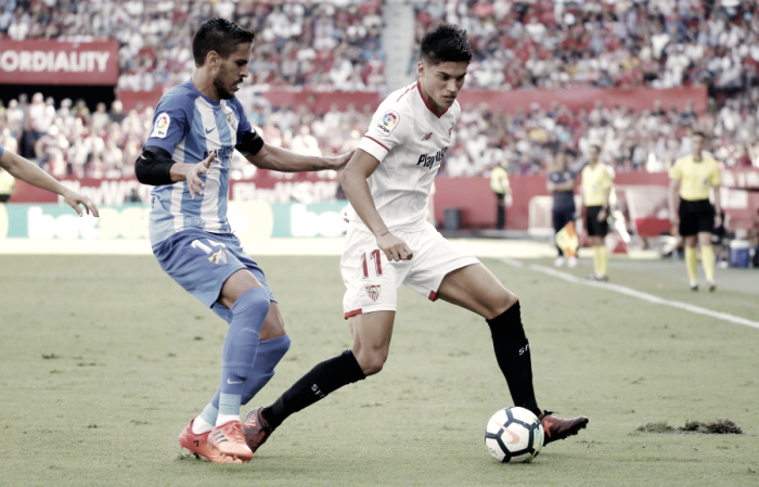 Sevilla- Málaga: puntuaciones del Málaga, jornada 7 La Liga