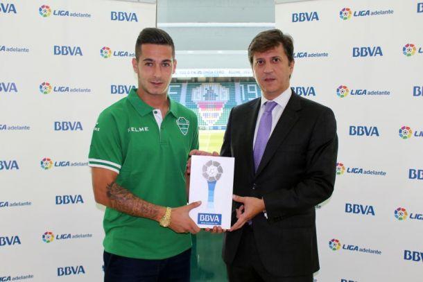 Sergio León elegido mejor jugador en septiembre de la Liga Adelante