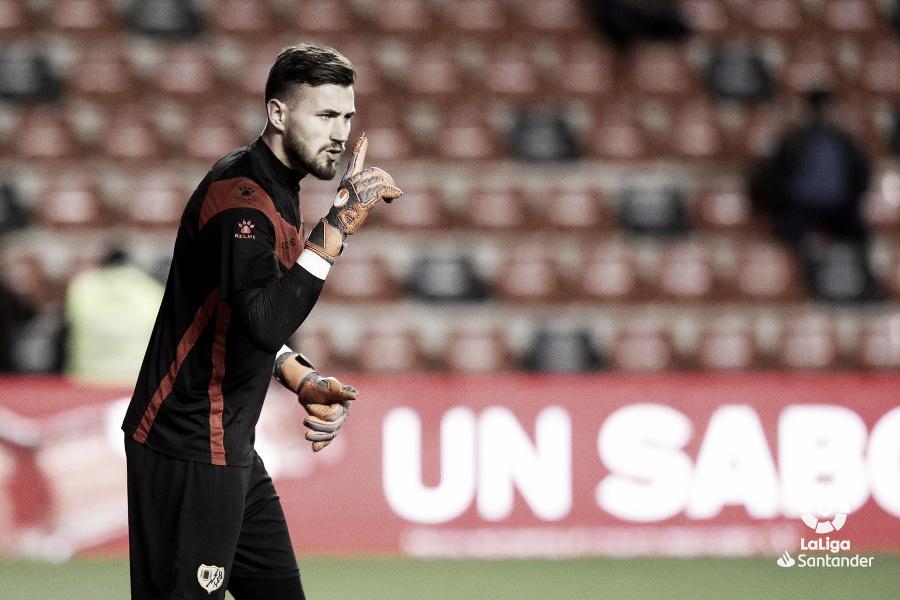 Dimitrievski y Álex Moreno, en el once ideal de La Liga