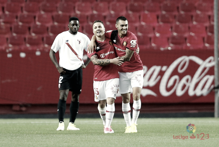 El Sevilla Atlético pincha en casa ante un Mallorca que se agarra a la permanencia