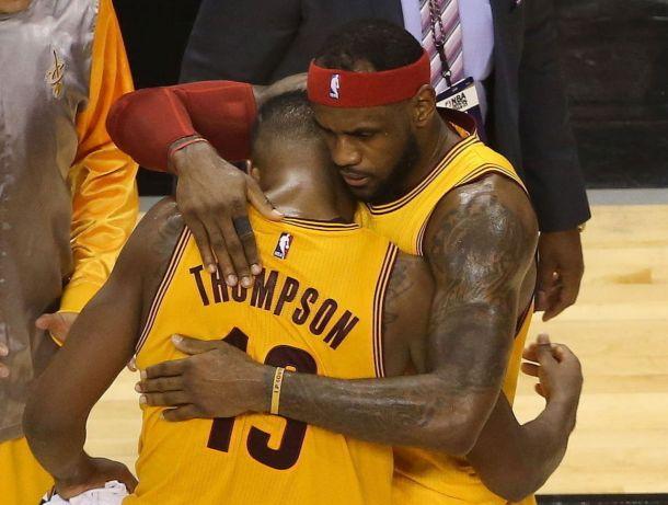 """Cavs e Thompson, parla James: """"Si deve risolvere, è una distrazione"""""""