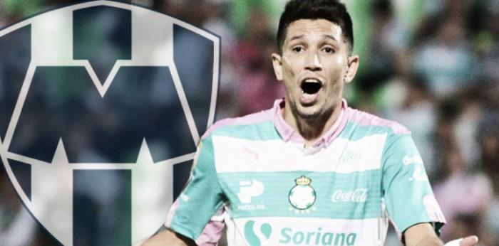 Confirma Rayados la incorporación de Jesús Molina a sus filas