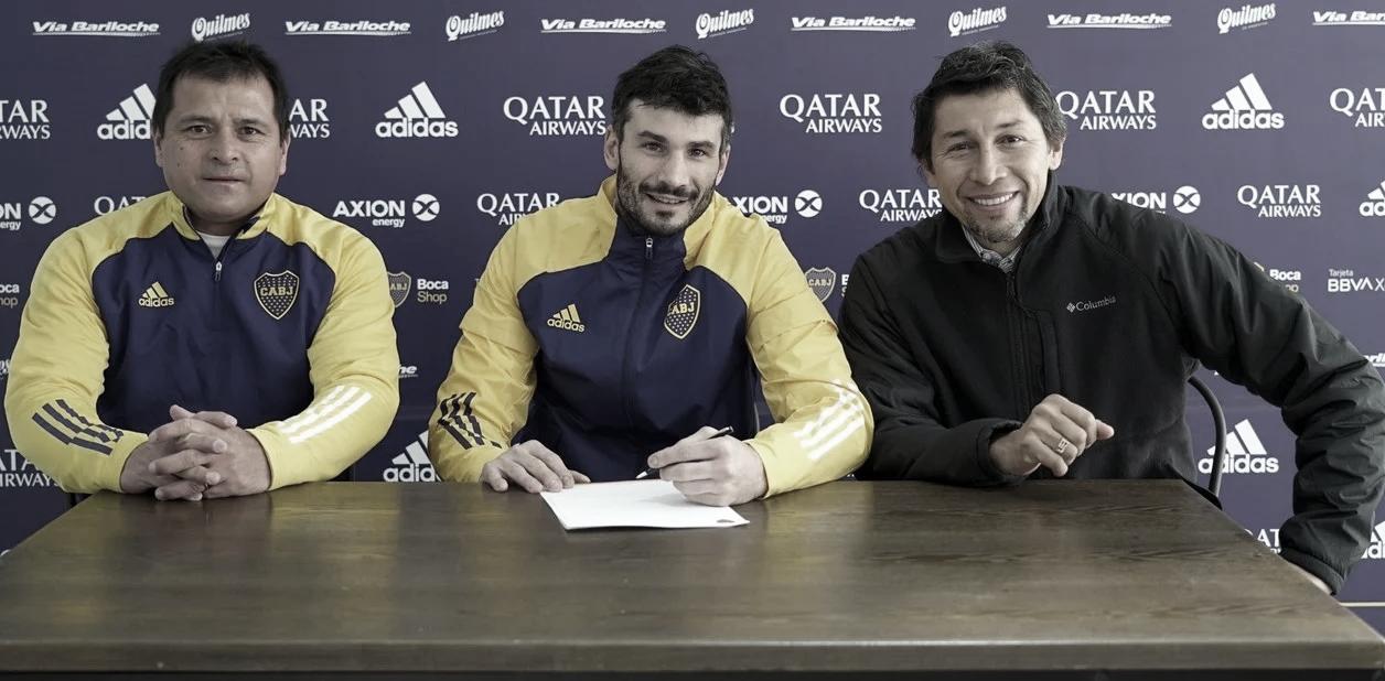 Javier García es nuevo refuerzo de Boca