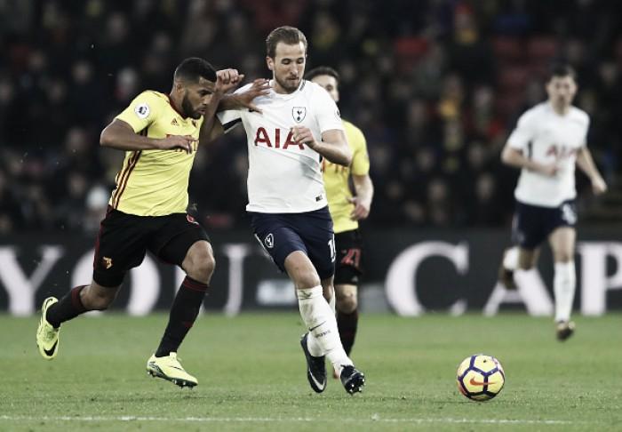 Watford e Tottenham empatam em jogo com pênalti não marcado no fim
