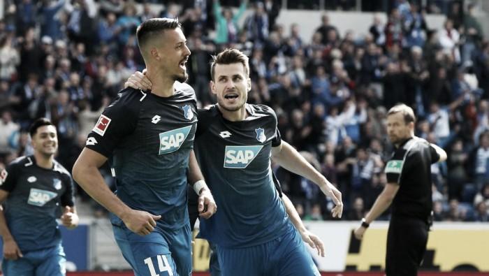 Com gol de Wagner, Hoffenheim empata com Hertha Berlin em casa