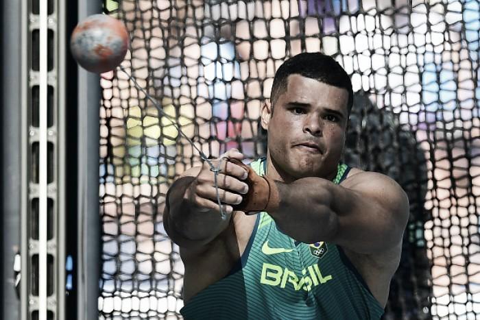 Brasileiros seguem na disputa por medalhas no decatlo e lançamento de martelo