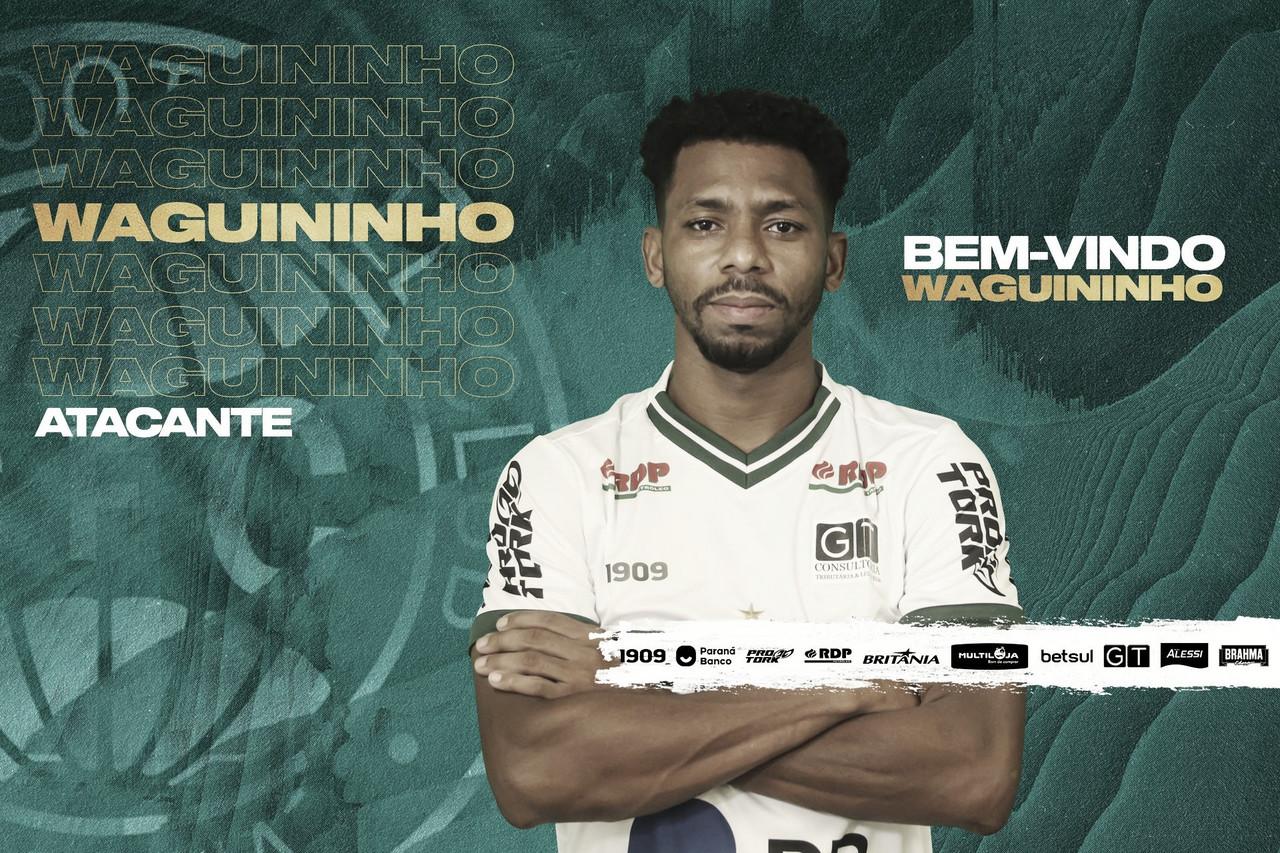 Waguininho oficializa negociação com Coritiba e projeta boa temporada