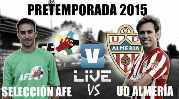Resultado Selección AFE vs Almería (1-1)