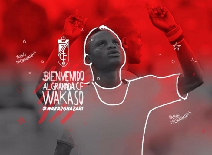 Wakaso llega cedido al Granada CF