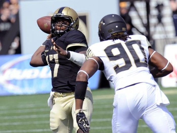 Summary Army 21-13 Wake Forest in NCAA Football 2016