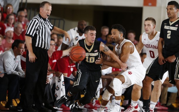 Wake Forest Demon Deacons Use Late Comeback To Stun No. 13 Indiana Hoosiers