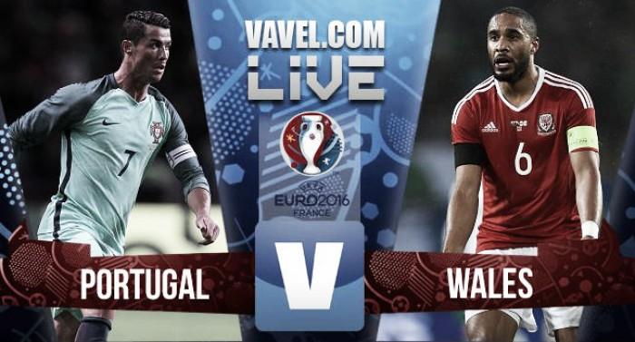 Ronaldo and Nani strike to send Portugal to Euro 2016 final, ending Wales' heroic run
