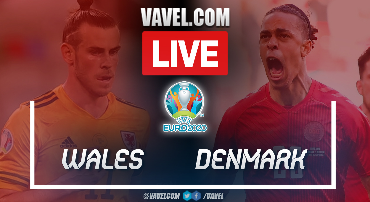 Goals and Highlights: Wales (0-4) Denmark in UEFA Euro 2020