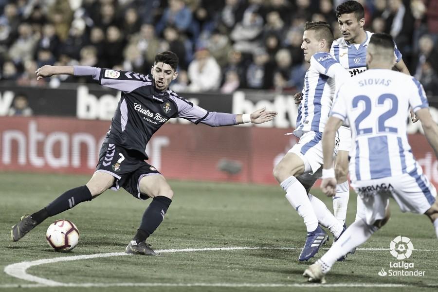 El Real Valladolid se deja los puntos en Butarque