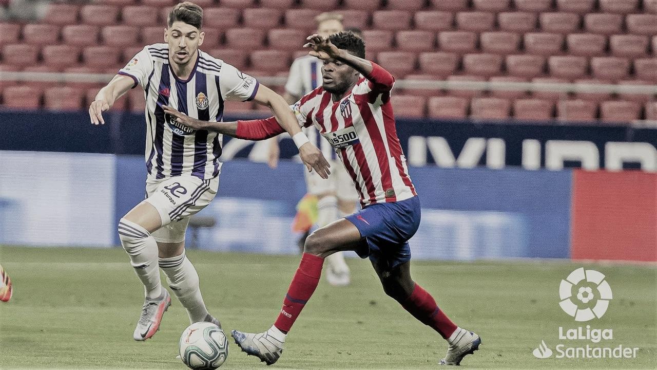 Un despiste deja al Real Valladolid sin puntuar en el Wanda