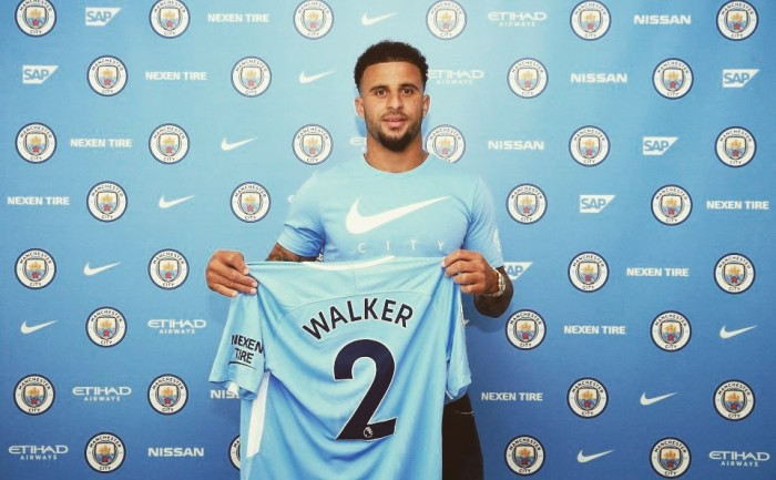 Walker Manchester City, ufficiale: 51 milioni