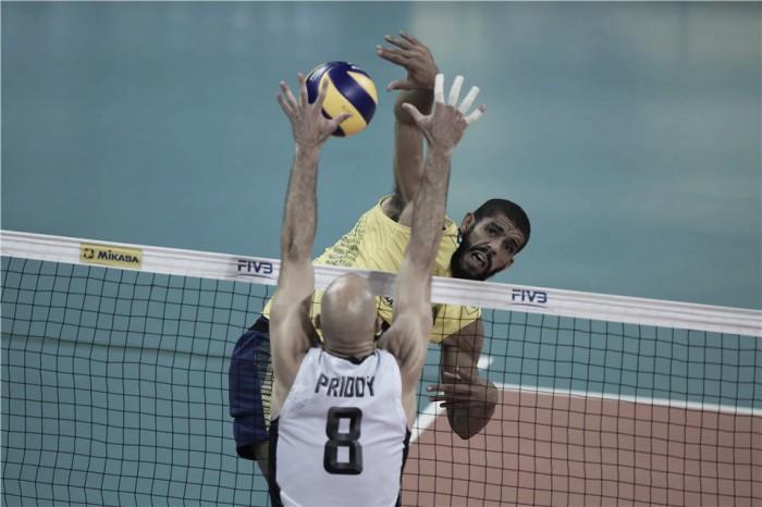 Brasil derrota Estados Unidos pela Liga Mundial de Vôlei