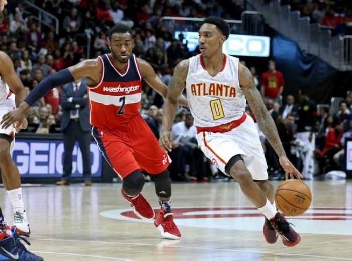 John Wall Leads Washington Wizards To 117-102 Win Over Atlanta Hawks