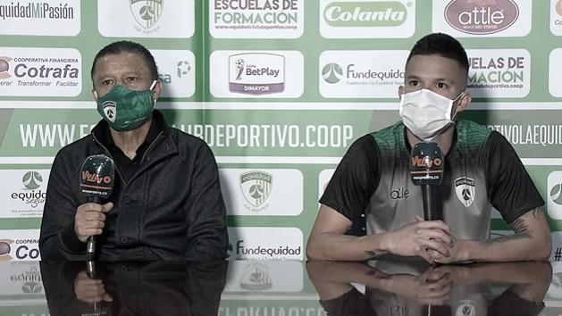 """Walmer Pacheco: """"El Equipo se comportó a la altura, fuimos una familia dentro del campo"""""""