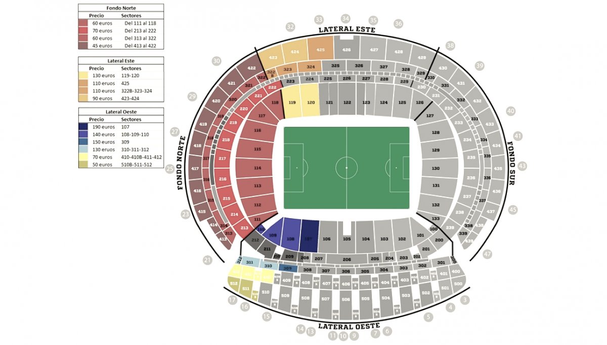 El club pone a la venta las entradas de la final de Copa del Rey