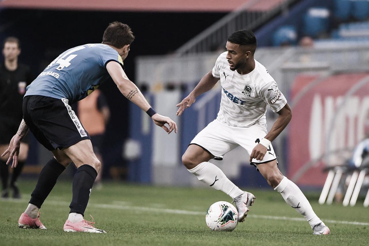 Com bons números no Krasnodar, Wanderson espera melhorar desempenho na equipe