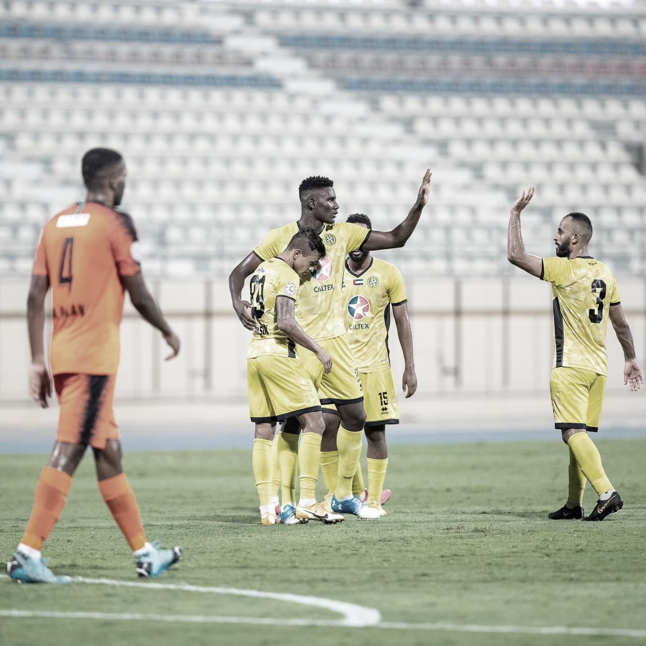 Wanderson acredita em boa temporada do Ittihad Kalba nos Emirados Árabes Unidos