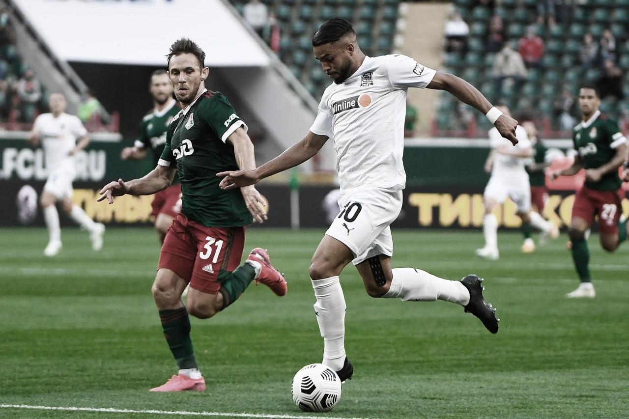 Wanderson vê potencial no elenco do Krasnodar para brigar pelo topo na próxima temporada