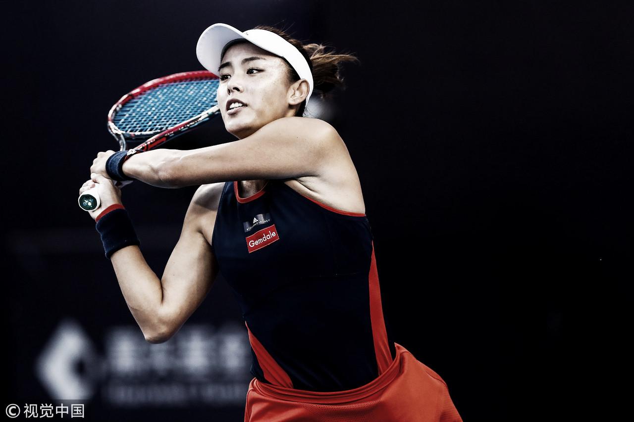 Wang mantém excelência e elimina Pliskova na WTAem Pequim