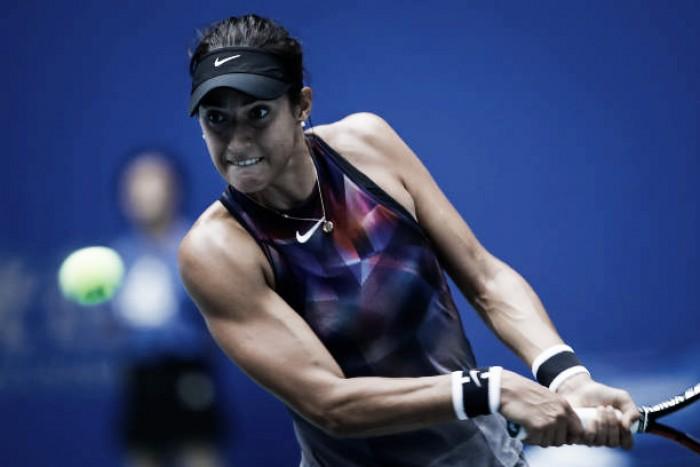 WTA Wuhan: Caroline Garcia rallies to defeat Angelique Kerber