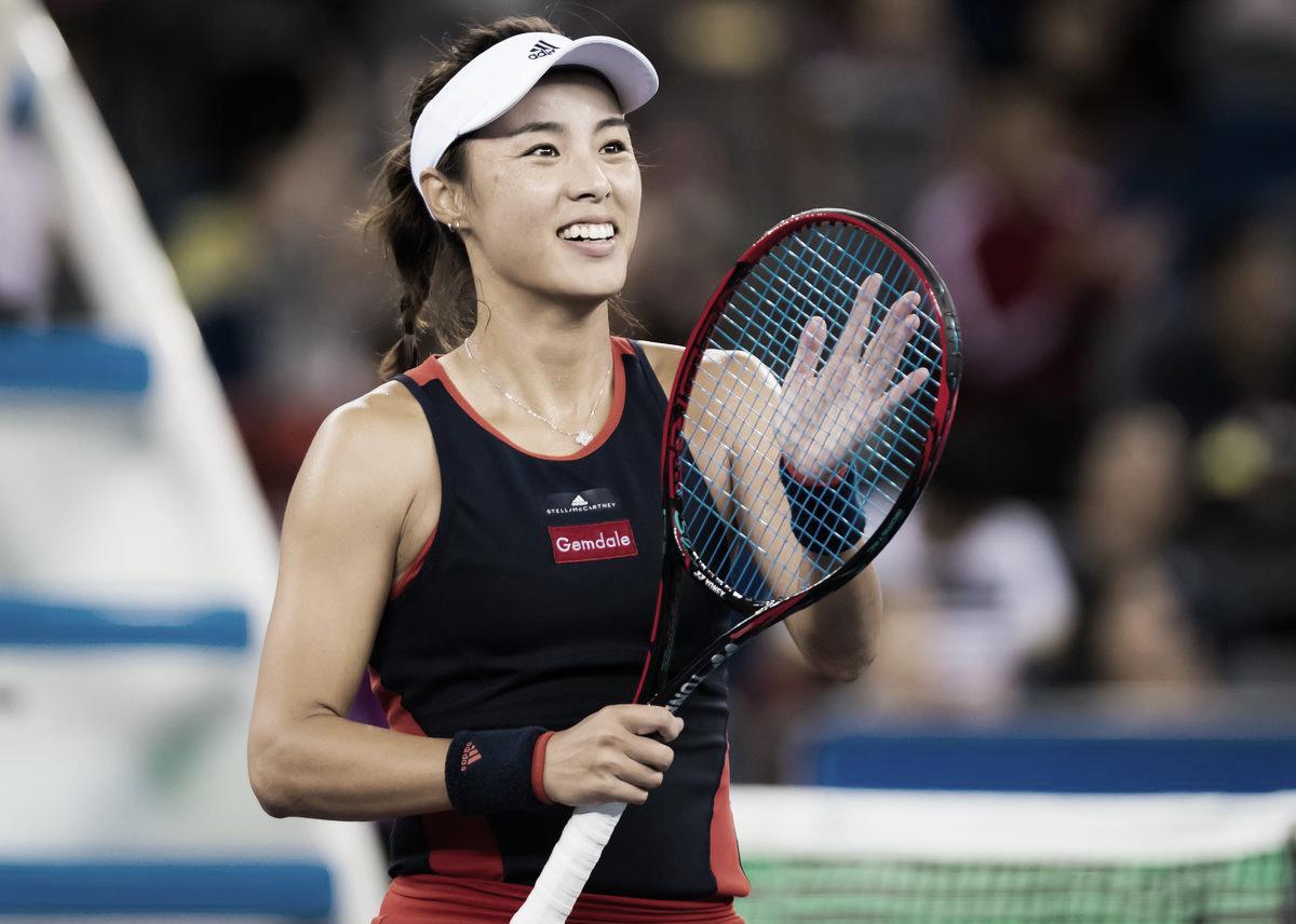 Com duplo 6/0, Wang desmantela Ostapenko e avança em Pequim