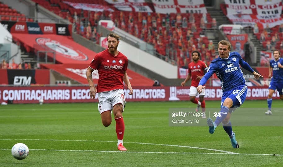 Bristol City 0-1 Cardiff City: Bluebirds strengthen play-off grip with derby win