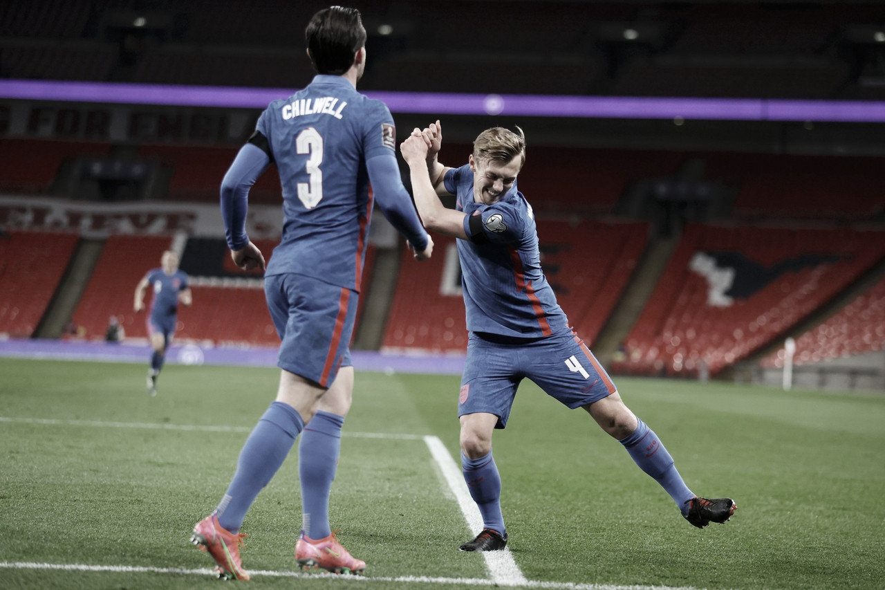 Inglaterra poupa jogadores e goleia San Marino pelas Eliminatórias da Copa do Mundo