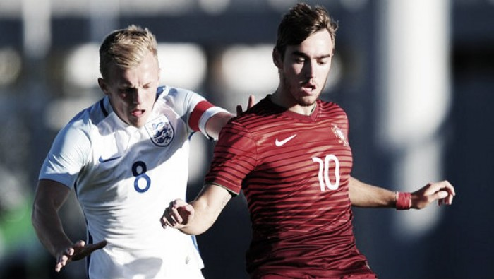 England under-21 1-0 Portugal under-20: Southgate's men get off to winning start