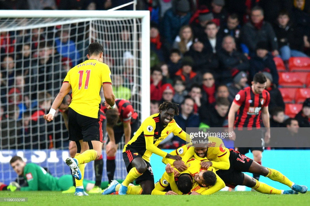 The Warm Down: Watford steamroll Bournemouth on the south coast