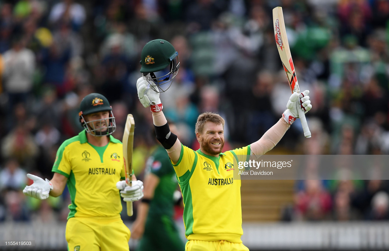 2019 Cricket World Cup: Strong opening pair gives Australia win over Pakistan