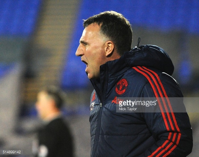 Manchester United under-23s boss Warren Joyce leaves for first team management