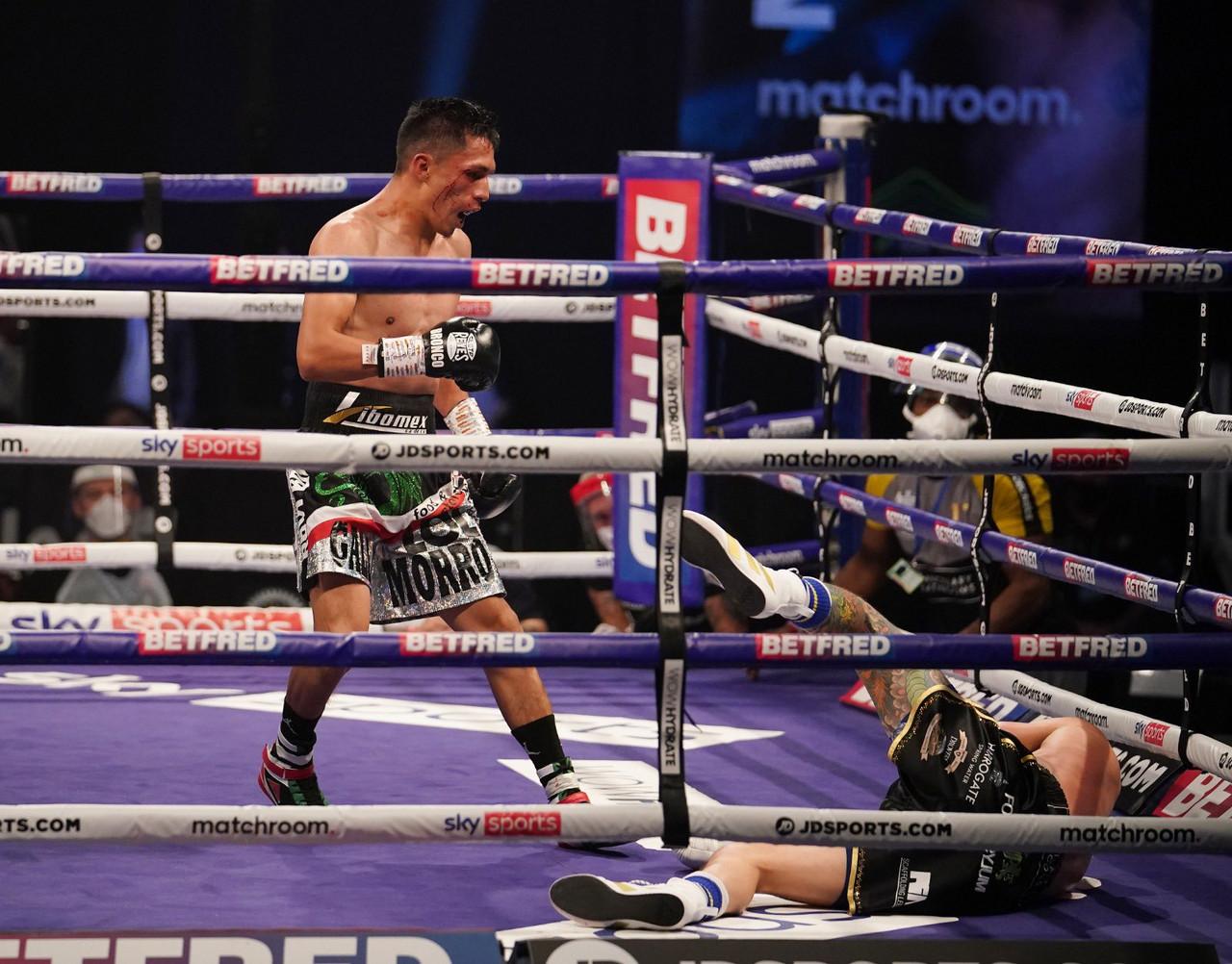 Lara stuns Warrington with vicious KO in the Capital