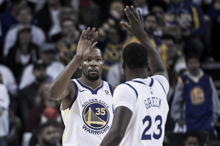 LeBron James thinks Kevin Durant may be the best defensive small forward