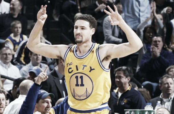 NBA, Thompson trascina Golden State a Indianapolis (123-131)