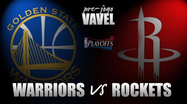 Final da Conferência Oeste: Golden State Warriors vs. Houston Rockets