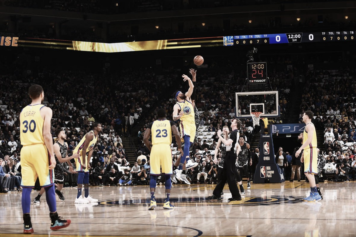 Previa Golden State Warriors - San Antonio Spurs: Game 1, revancha en primera ronda