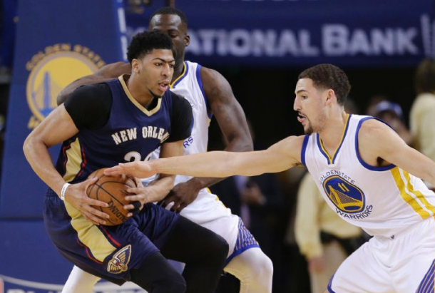 Golden State Warriors - New Orleans Pelicans Live Updates and 2015 NBA Playoff Scores in Game 3 (123-119)