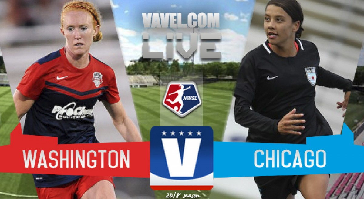 Washington Spirit 0-2 Chicago Red Stars in 2018 NWSL