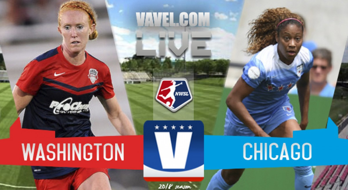 Washington Spirit 1 -1 Chicago Red Stars in 2018 NWSL